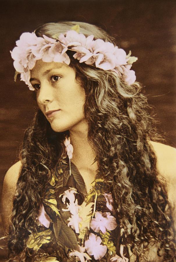 Hawaiian Wahine Photograph
