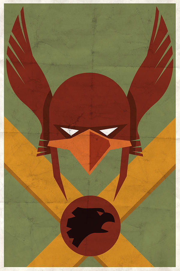 Hawkman Digital Art
