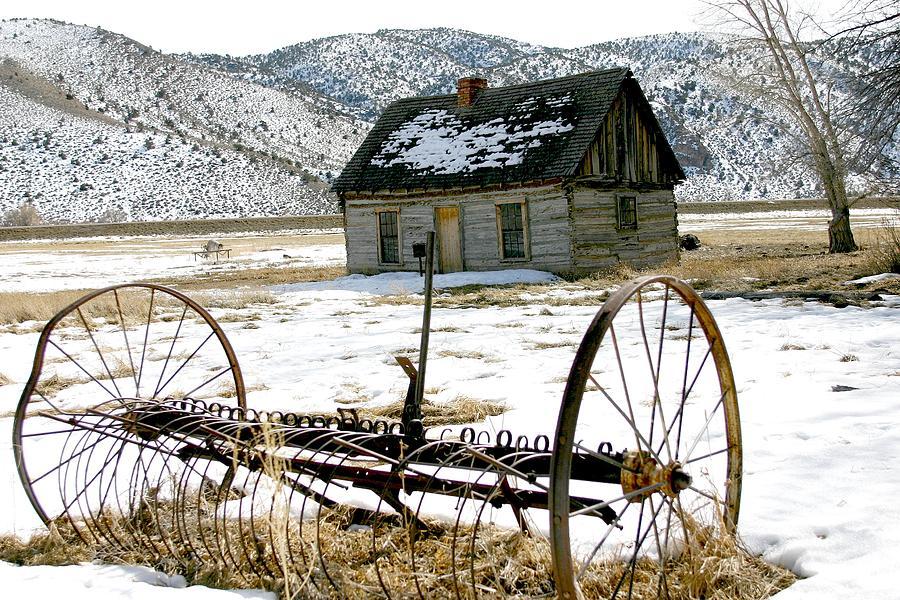 Hay Rake At Butch Cassidy Photograph