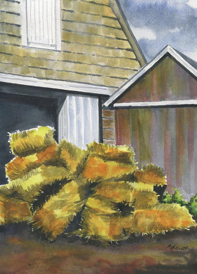 Haystack Painting