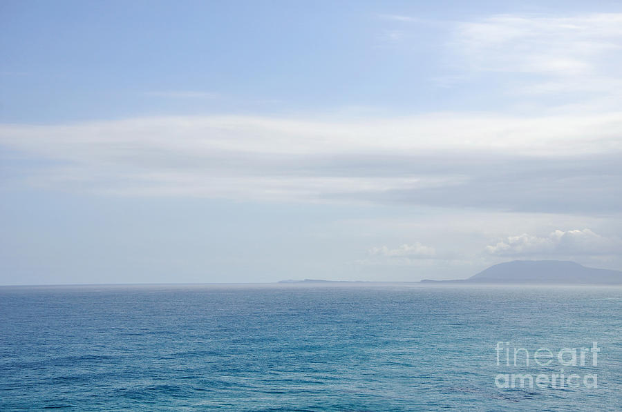 Hazy Ocean View Photograph  - Hazy Ocean View Fine Art Print