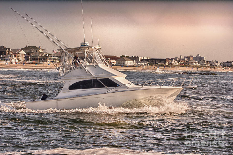 Hdr Fishing Boat Ocean Beach Beachtown Boadwalk Scenic Photography Photos Pictures Boating Sea Pics Photograph