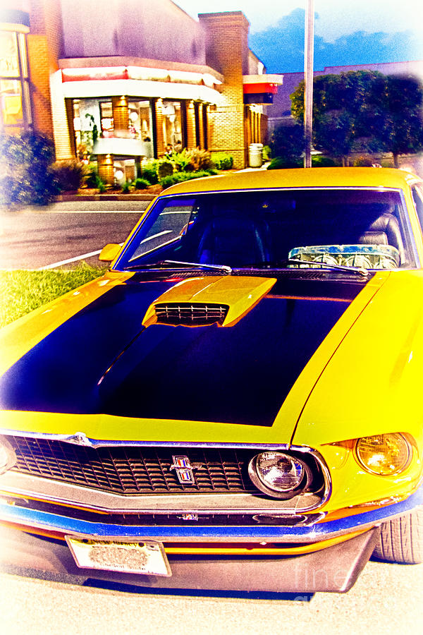 Hdr muscle car mustang cars classic cool photo pictures for Cool paintings for sale