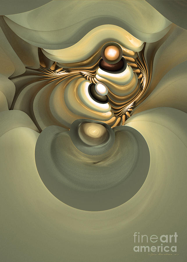 Fractal Digital Art - He Is Like His Father by Sipo Liimatainen