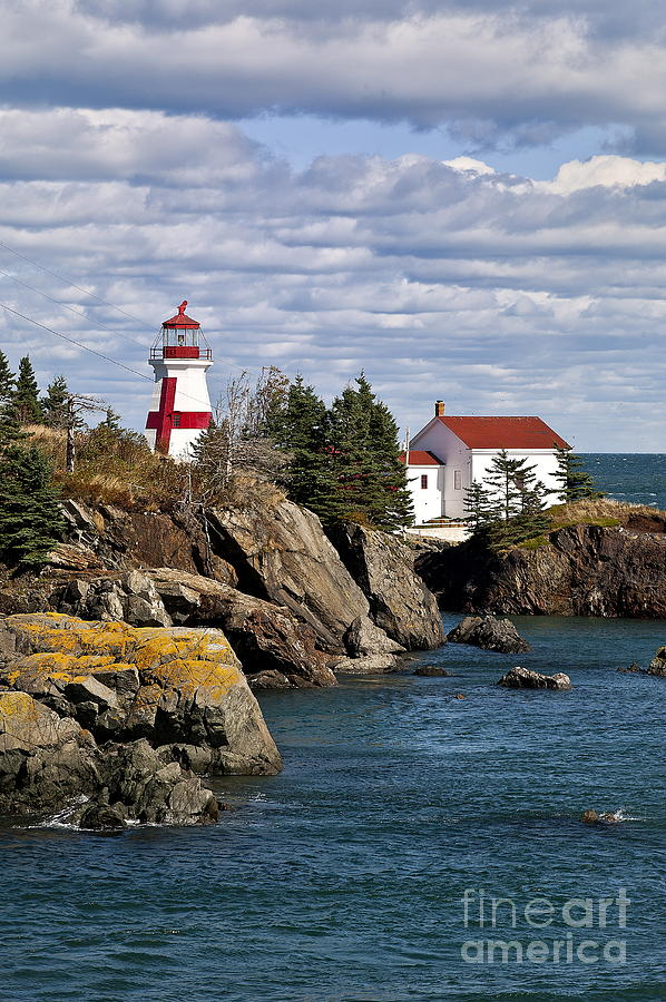 Head Harbour Lighthouse Photograph