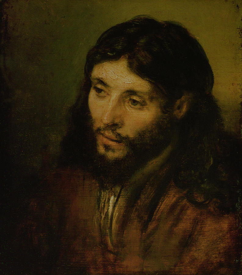 Head Of Christ Painting