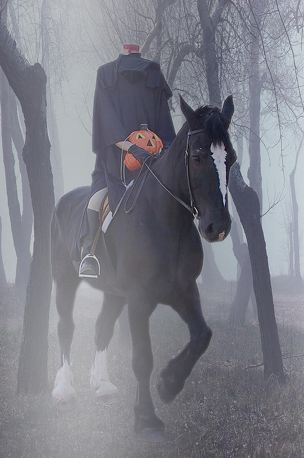 Headless Horseman Photograph