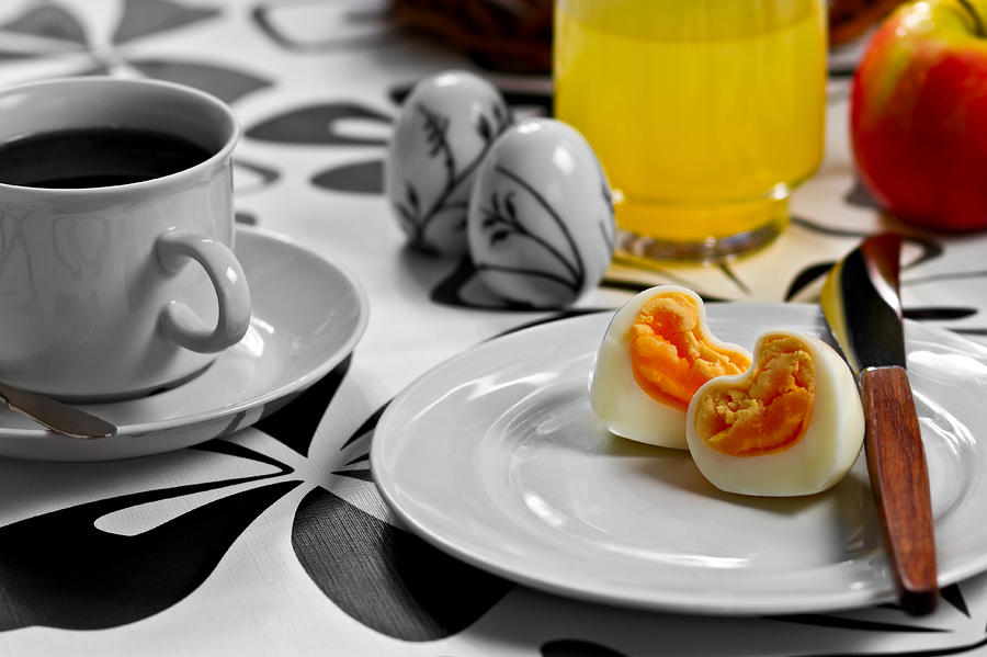 Heart Eggs Photograph