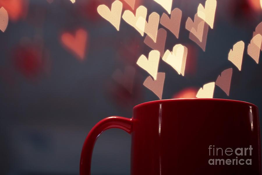 Beat Pyrography - Heart In My Cup Of Coffee by Soultana Koleska