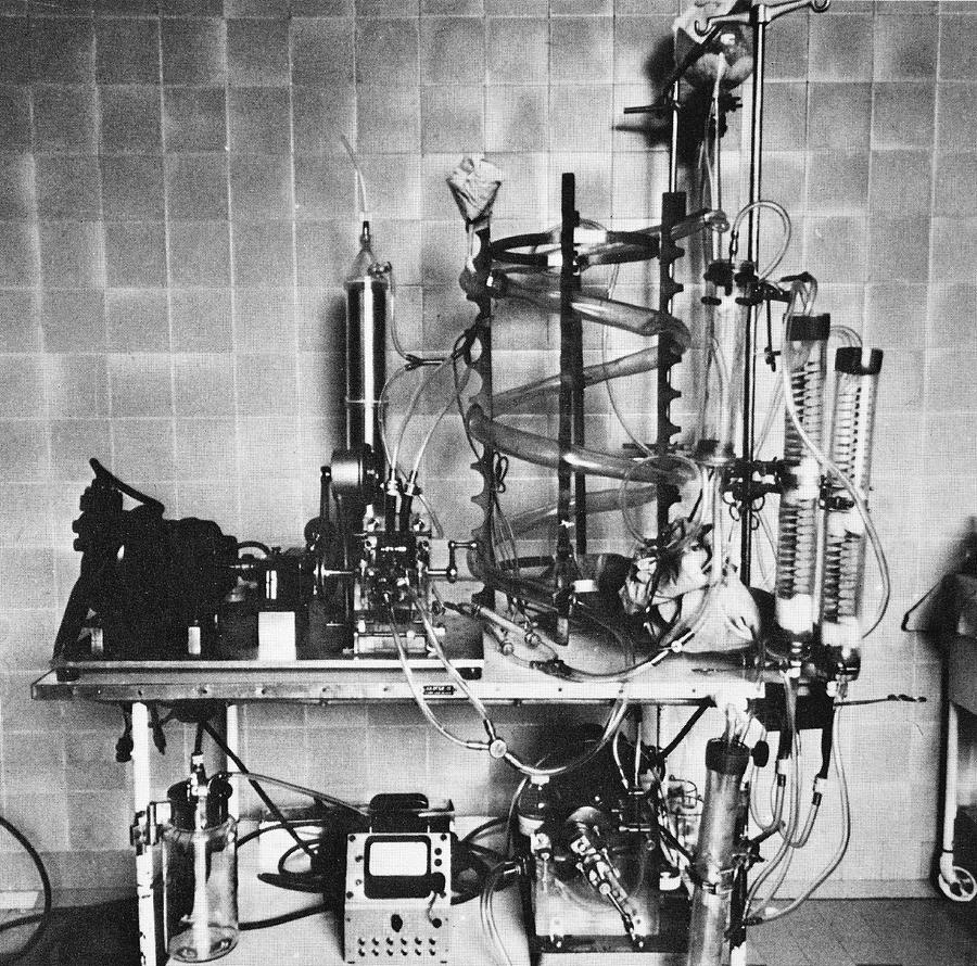 Heart-lung Machine, 20th Century Photograph