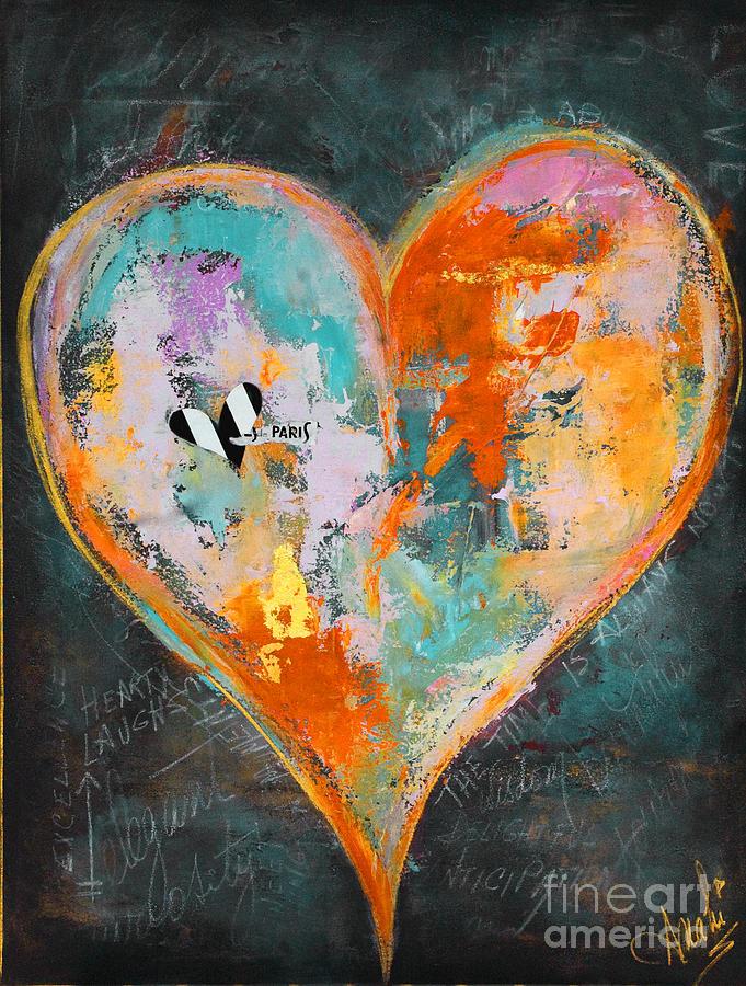 Heart Series - 1 Mixed Media