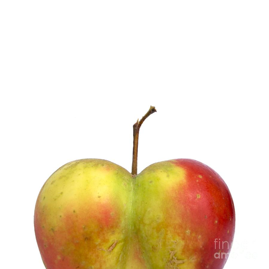 Heart.apple. Photograph