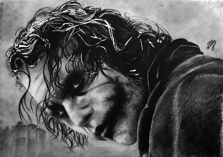 Heath Ledger - Joker Drawing