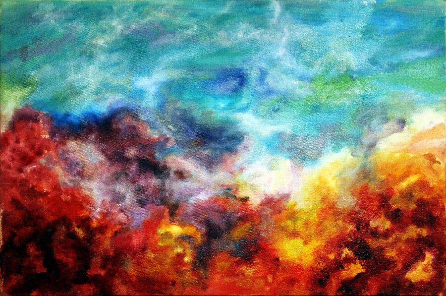 Heaven And Hell Painting By Matteo Leggi