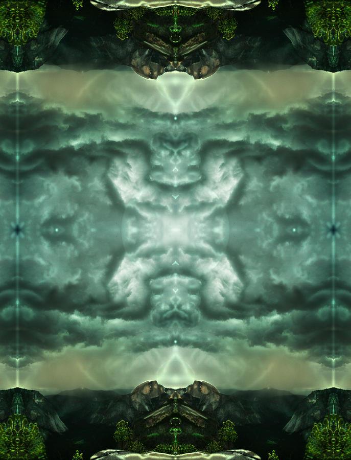 Heavenly Doorways Digital Art
