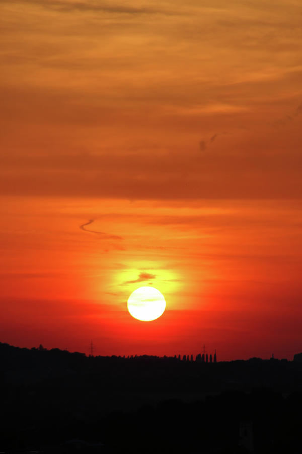 Heavenly Sunset Photograph  - Heavenly Sunset Fine Art Print