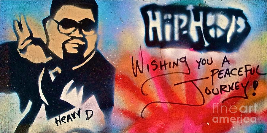 Heavy D Painting  - Heavy D Fine Art Print