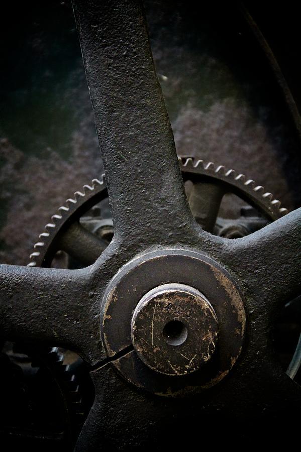 Machinery Photograph - Heavy Equipment by Odd Jeppesen
