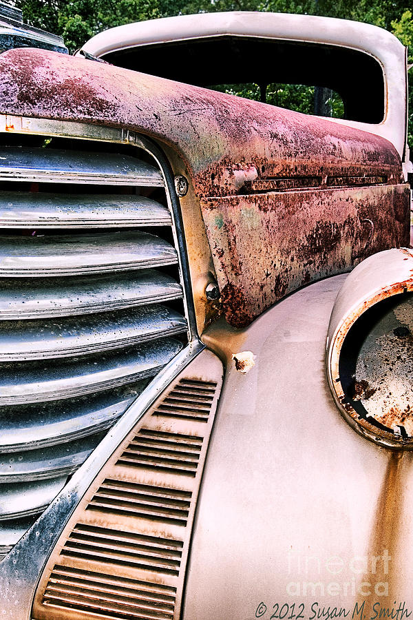 Automobile Photograph - Heavy Metal by Susan Smith