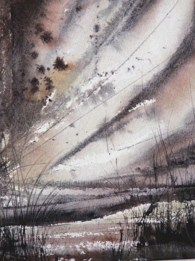 Heavy Rain Painting