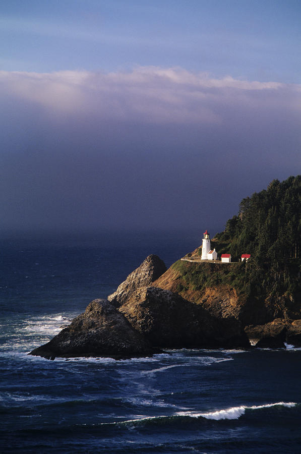 Heceta Head Lighthouse Photograph  - Heceta Head Lighthouse Fine Art Print