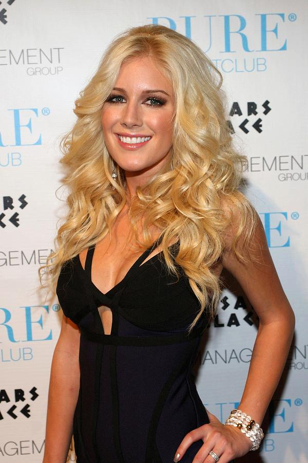 Heidi Montag In Attendance For Pures Photograph