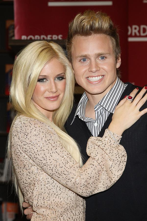 Heidi Montag, Spencer Pratt At In-store Photograph