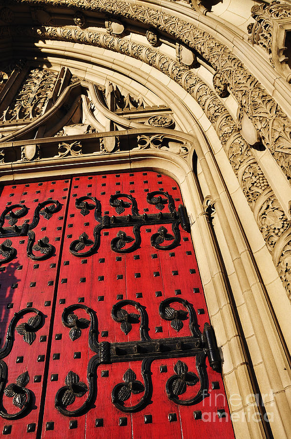 Heinz Chapel Doors Photograph
