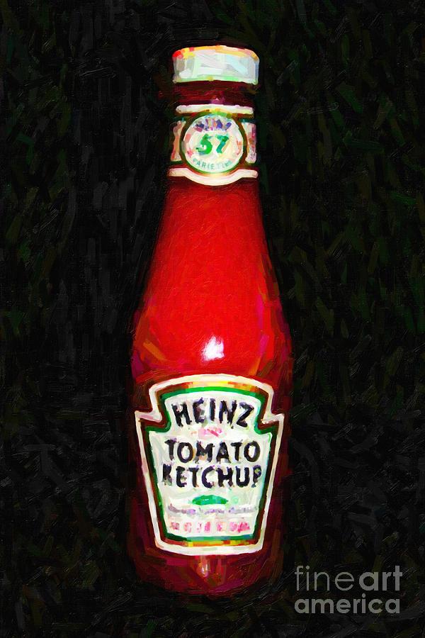 Heinz Tomato Ketchup Photograph