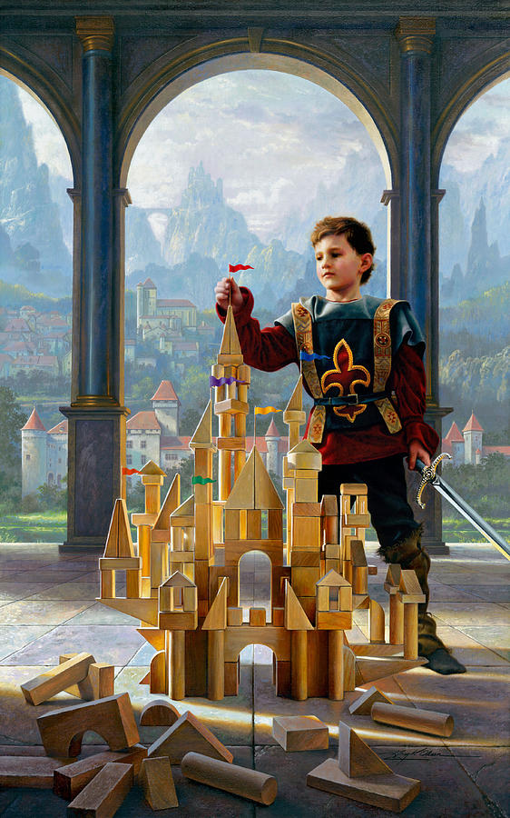 Heir To The Kingdom Painting  - Heir To The Kingdom Fine Art Print