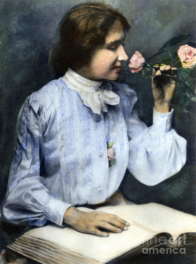 Helen Adams Keller Photograph