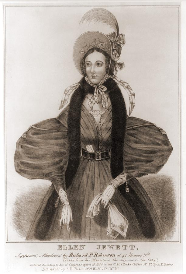 Helen Jewett 1813-1836 Was An New York Photograph