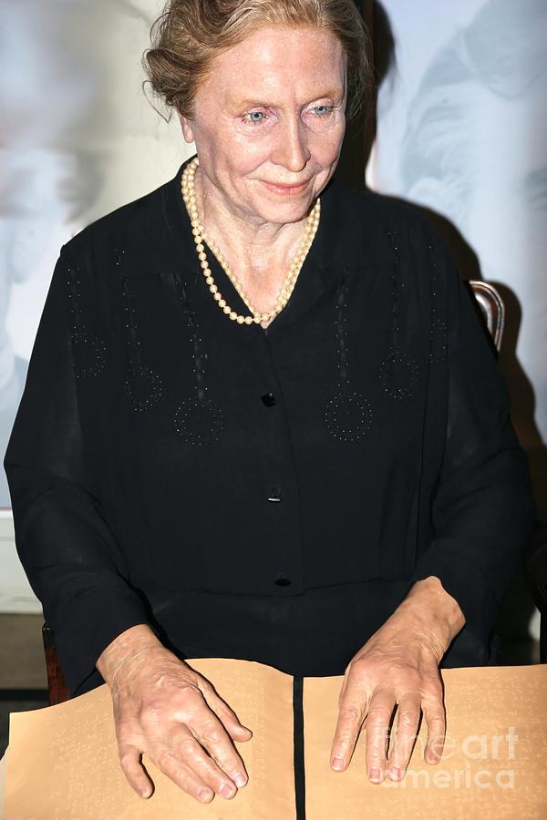 Helen Keller Photograph