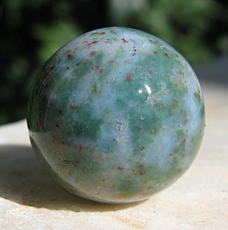 Heliotrope Sphere Photograph