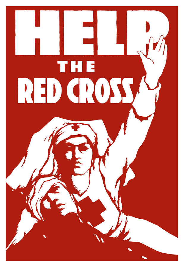 Help The Red Cross Painting