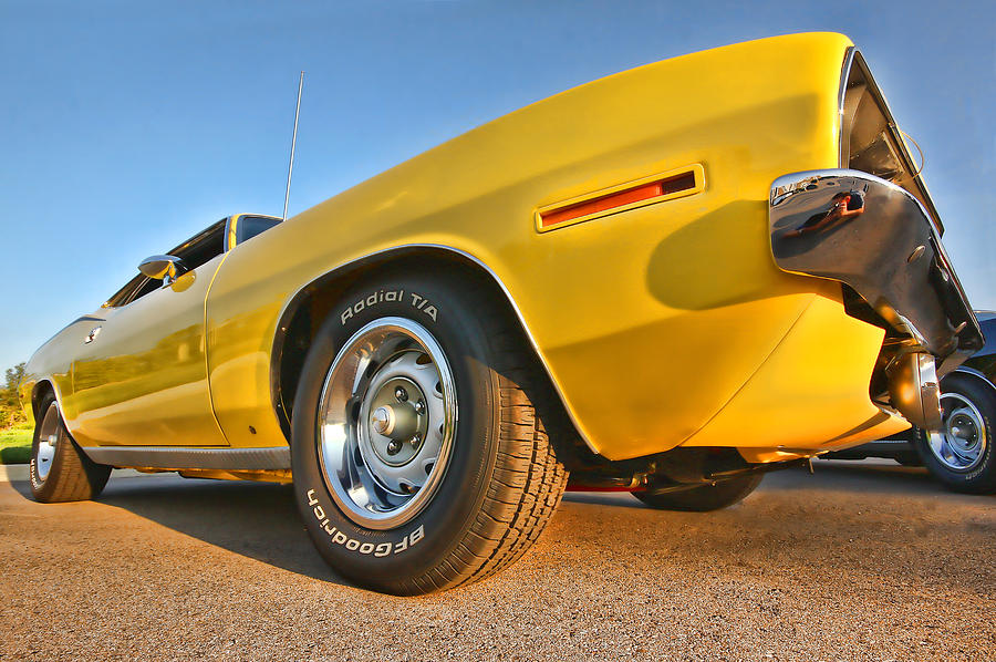 Hemi cuda - Ready For Take Off Photograph  - Hemi cuda - Ready For Take Off Fine Art Print