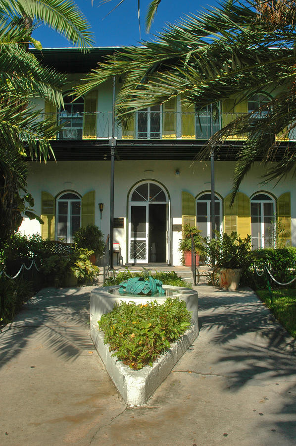 Hemingways House Key West Photograph