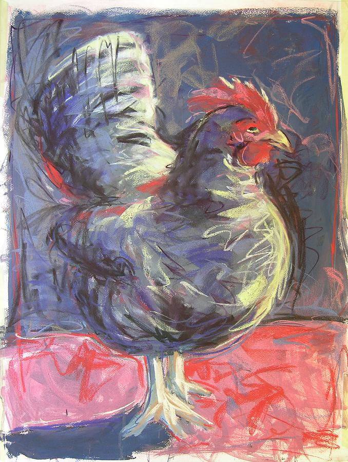 Hen Painting