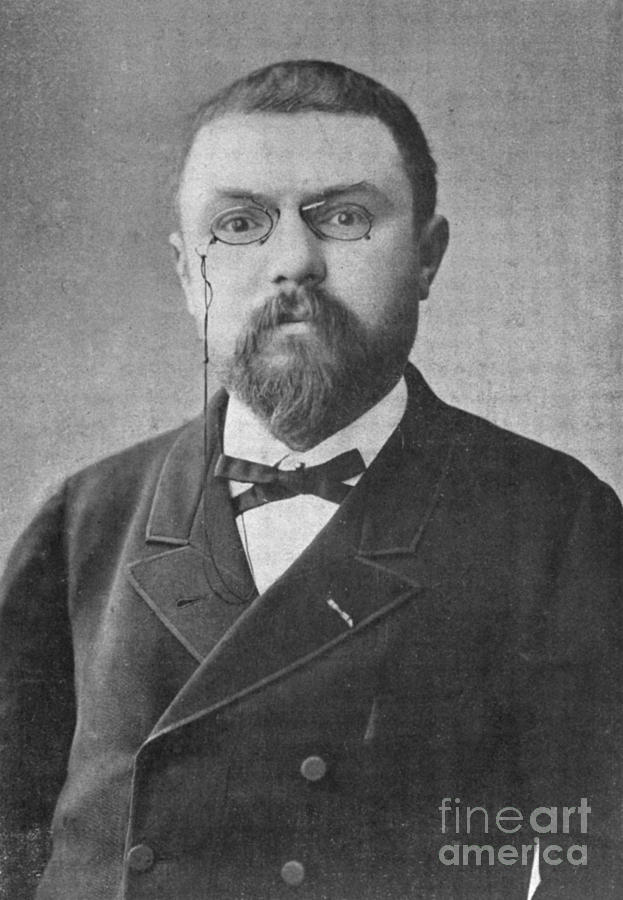 Henri Poincare, French Mathematician Photograph