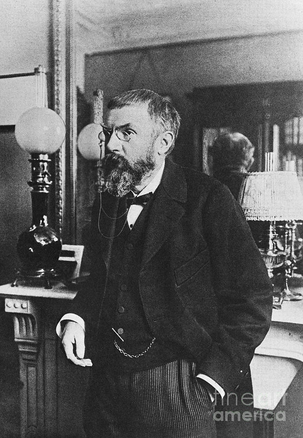 Henri Poincare, French Polymath Photograph