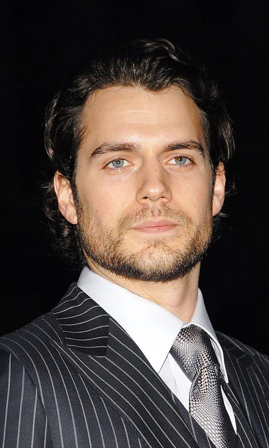 Henry Cavill At Arrivals For Vanity Photograph  - Henry Cavill At Arrivals For Vanity Fine Art Print