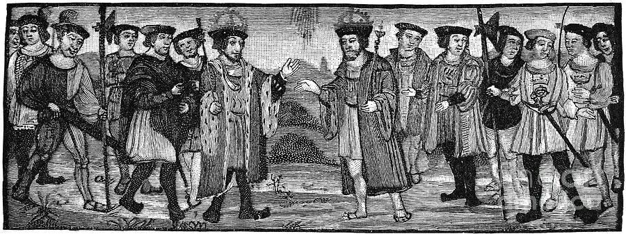 Henry Viii & Francis I Photograph