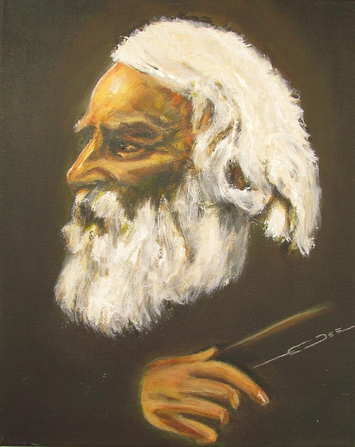 Henry Wadsworth Longfellow Painting