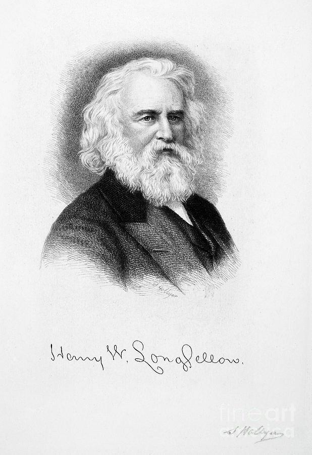 Henry Wadsworth Longfellow Drawing