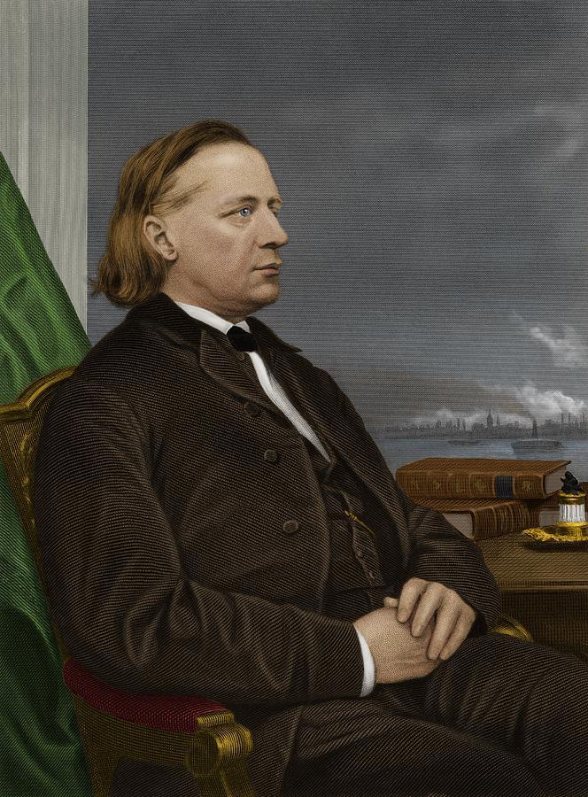 1800s Photograph - Henry Ward Beecher, Us Social Reformer by Maria Platt-evans