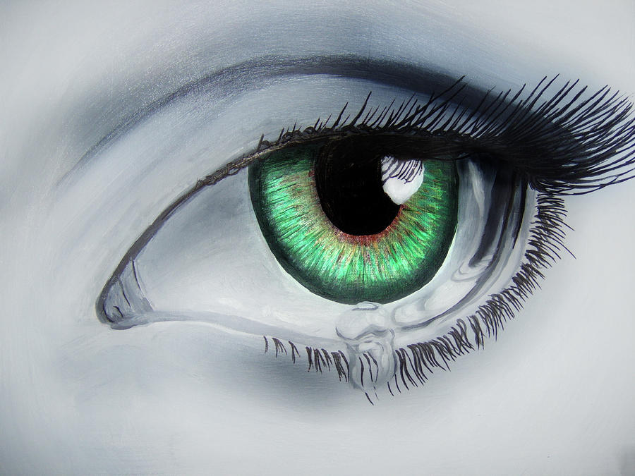Her Eye Painting  - Her Eye Fine Art Print