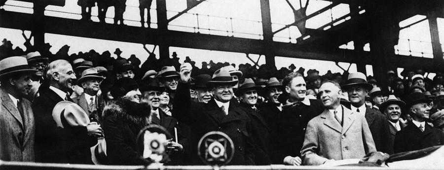 1929 Photograph - Herbert Hoover (1874-1964) by Granger
