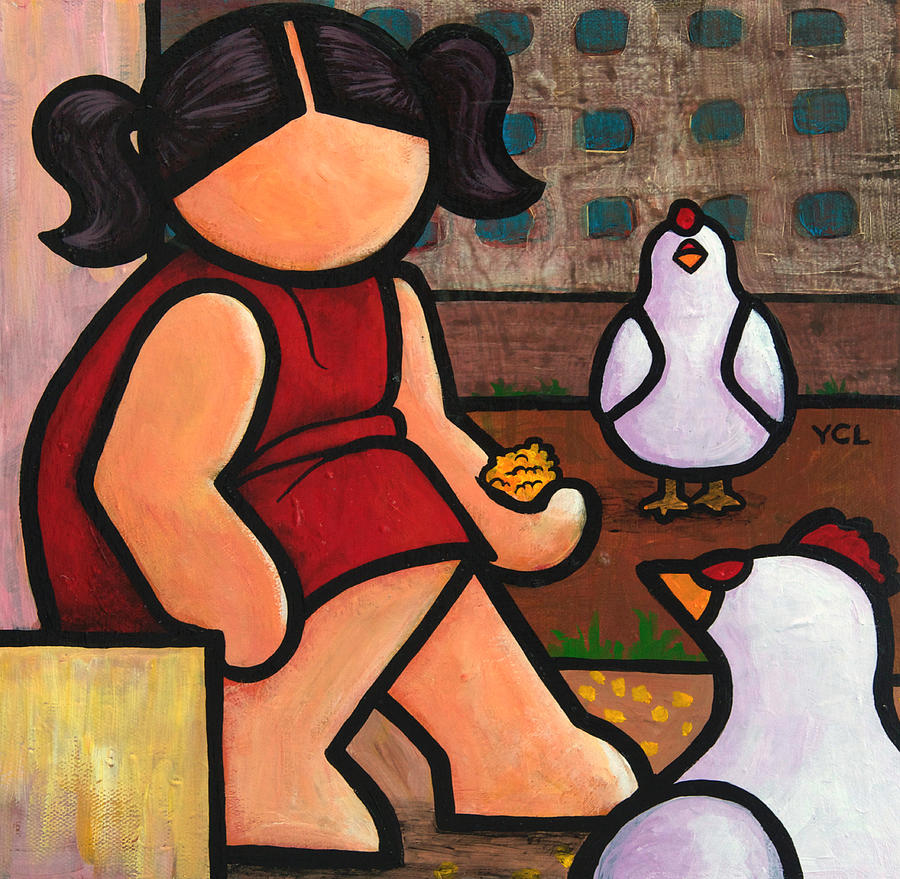 Here Chicky Chicky Painting