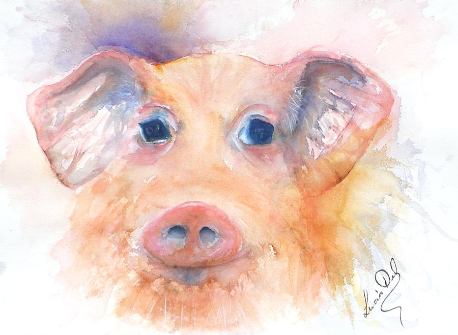Here Piggy Painting