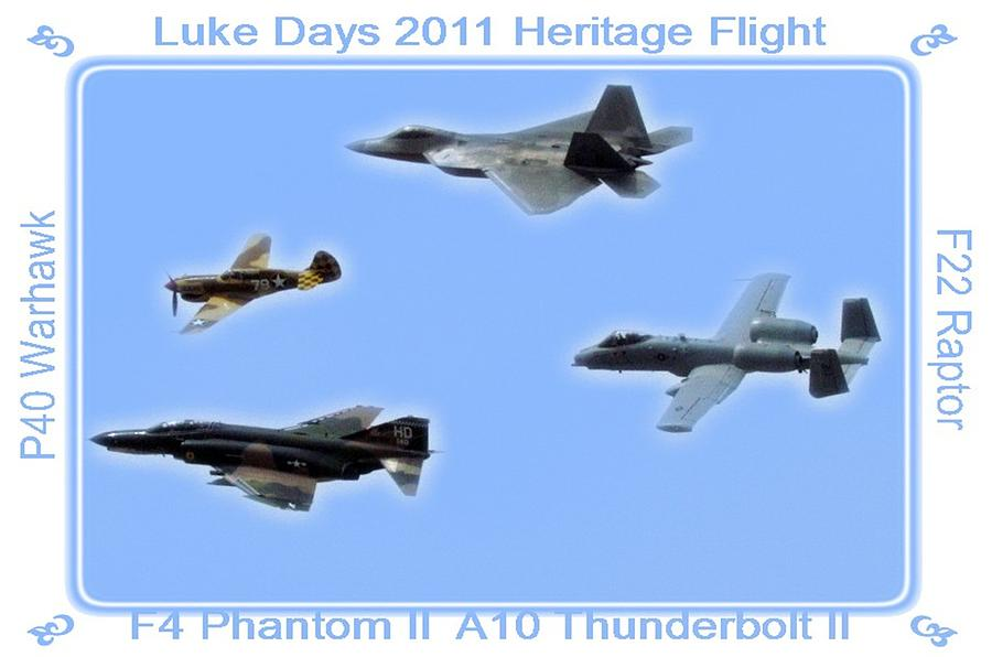 Heritage Flight Photograph